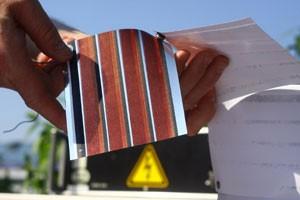 Solarzellen auf Folie